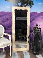 Provence bútor, Antikolt álló tükör.
