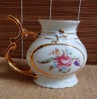 Régi porcelán gyógyvíz ivópohár