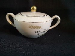 Gyönyörű Arzberg német porcelán pillangós tégely/bonboniere hibátlan