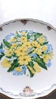 Royal Albert gyönyörű virágos dísztányér