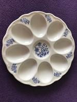 Nagyon szép 8 db porcelán tojástartó 21 cm átmérő.