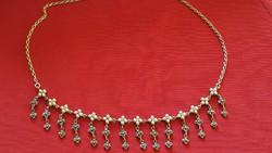 Régi ezüst nyakék