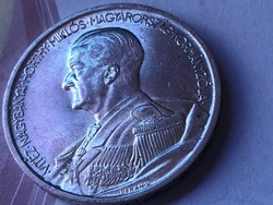 1939 ezüst Horthy 5 pengő 25 gramm gyönyörű darab