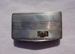 Érdekes régi ezüst doboz