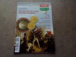 Magyar Érme Hírlap 2014/4 július/augusztus/id 7257/