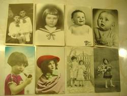 Korai próba: 1928. A piros kalapomban használt antik képeslap egyben: 2600 Ft