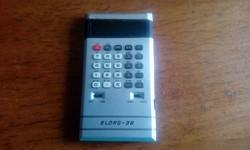 Retro ELORG-36 ledes számológép