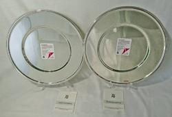 WMF DUPLEX-VERSIEGELUNG Origi újállapotú lefóliázott kérek nagyméretű tükrös tálaló/torta tál