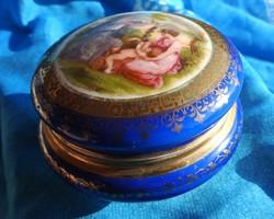 Antik barokk mitológiai jelenetes  Royal Carlsbad bonbonier