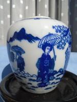 Régi Japán porcelán váza / 11 cm körméret  32 cm