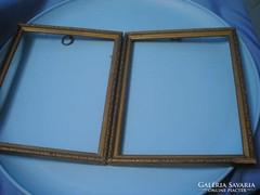 U10 Antik Fa keretek tükörnek,aranyszínű díszített