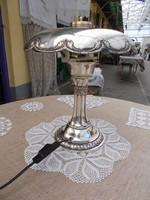 Szeceszios ezütözött asztali lámpa