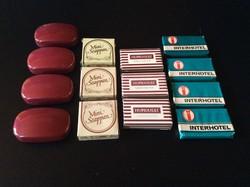 14 db. Retró Mini szappan gyűjtemény