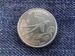 USA emlék quarter dollar 2008 P - Oklahoma/id 2981/