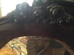 Antik tálaló (antique service cupboard) 170 width, 35 depth, 81 height.