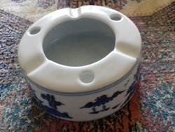 Keleti porcelán melegítő v. Hamuzo 10 x 4 cm