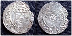 I. Miksa ezüst dénár 1575 KB/id 2156/