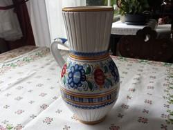 MODOR-i (Modra)  szlovák füles kerámia váza, szép, hibátlan