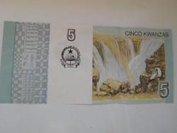 Angola 5 kwancas 2012 UNC
