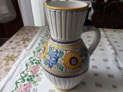 MODOR (Modra)-i szlovák füles kerámia váza, hibátlan