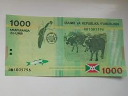 Burundi 1000 francs 2015 UNC