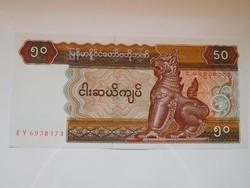 Myanmar   50 kyats 1994 UNC további bankjegyek a kínálatomban a galérián