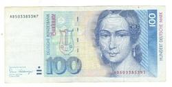 100 márka 1989 NSZK Németország