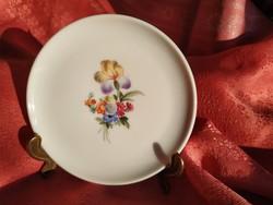 Kicsi virágmintás porcelán tál