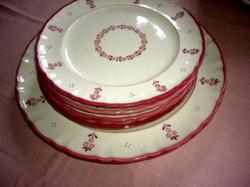 5 db Schamberg Wien  tányér