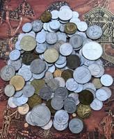 Magyar pénz lot sok értékes érmével-Ezüst 200-as, Deák 20-as stb.