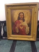 10000ft-ról! Hatalmas antik festmény!