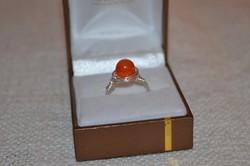 Ezüstözött drót gyűrű 01