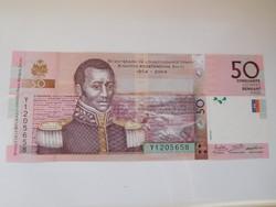 Haiti 50 gourdes 2016 UNC