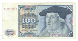 100 márka 1970 NSZK Németország
