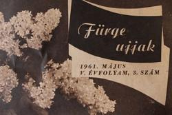 Régi Fürge ujjak újság 1961-ből