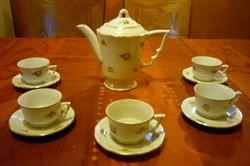 Hat személyes Zsolnay kávés készlet