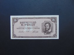 1 millió B.-pengő 1946 Szép ropogós bankjegy  02