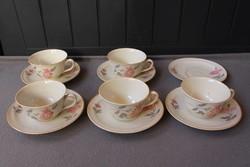 Royal Ivory KPM porcelán teáskészlet