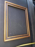 31x41 fészkű, laparanyozott, szép fakeret