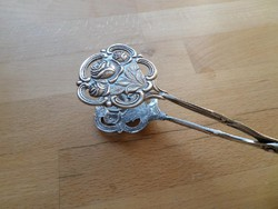 100-as ezüstözött Hildesheimer rózsás tortafogó süteményfogó csipesz