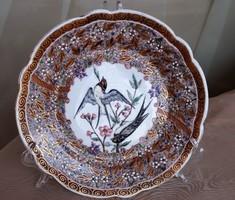 Herendi antik Seszták János Kolozsvár tányér a 19. századból