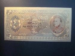 24 karátos arannyal bevont,1926 5 Pengő, emlék kiadás