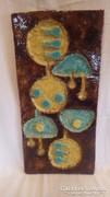 Iparművész samott falikép