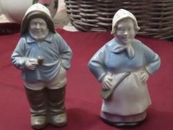 Só és borsszóró holland pár  jelzett porcelán eladó