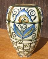 Gorka Keramos Nógrádverőce 17 cm magas váza