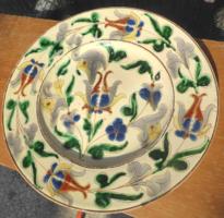 Bozsik Kálmán 39 cm átmérőjű kapitális tányér