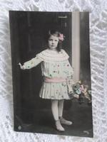 110 éves, különleges plasztikus díszítésű képeslap - 1908