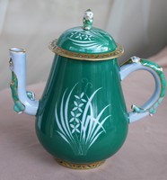 Herendi Eszterházy zöld kanna