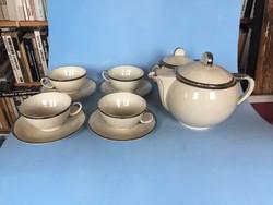Csodaszép Art deco-Bauhaus  Drasche teás kávés