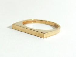 Arany gyűrű(Kecs-Au75406)